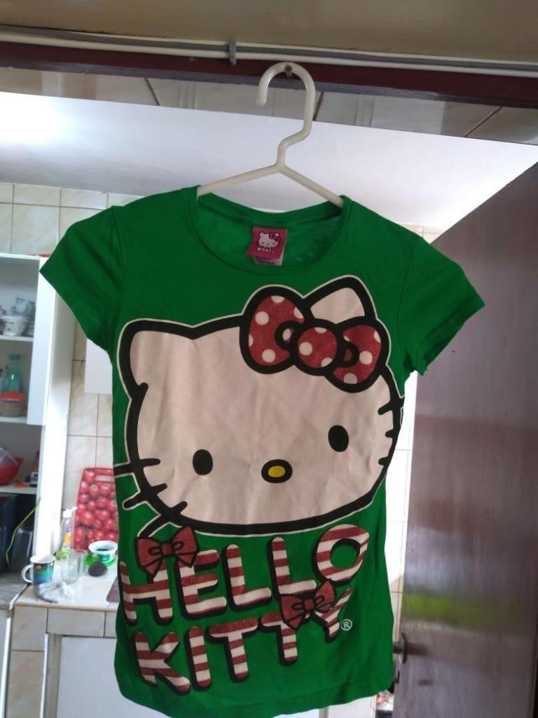 "POLO PARA GIRLS ""HELLO KITTY"",ORIGINAL,NUEVO,TALLA 7,8 y 9"