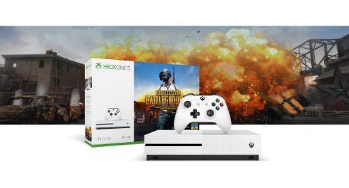 Xbox One S 1tb + Unknowns Battleground 4k