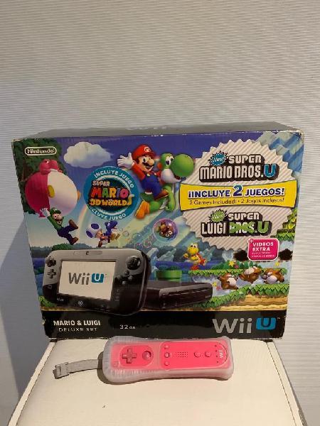Nintendo Wii U 32gb 3 Juegos 1Control