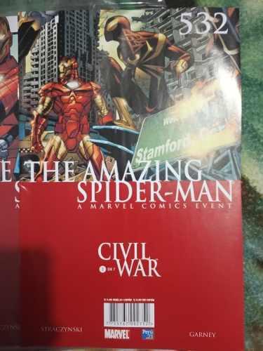 Spiderman:civilwar, One More Day?! Perú 21