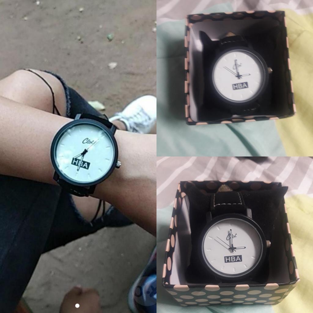 Reloj Hba Blanco