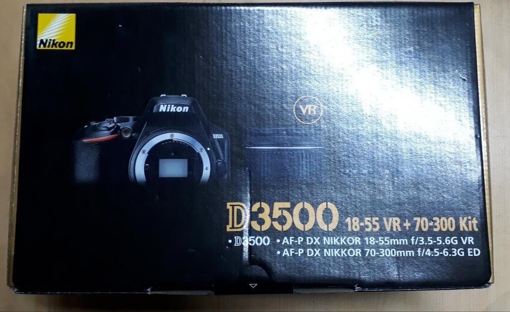 Camara Nikon D Nuevo en Caja