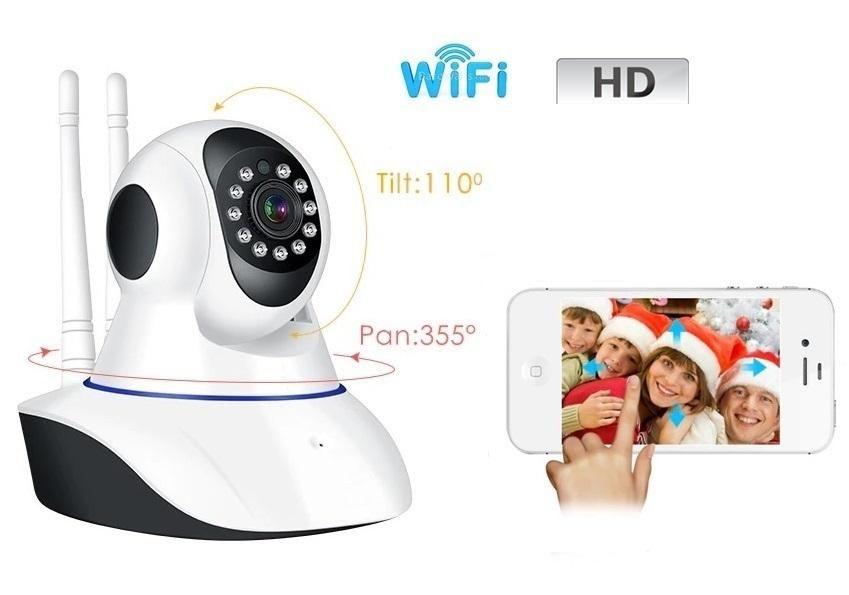 Cámara de seguridad ip robótica HD wifi