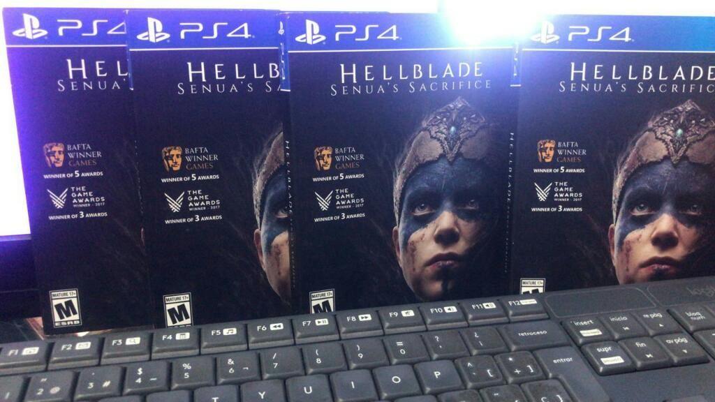 Hellblade Senuas Sacrifice Ps4 Nuevo Sellado Stock