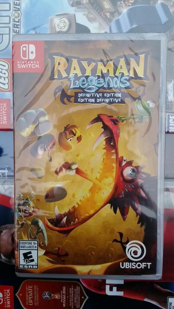 Rayman Legends Nintendo Switch Nuevo Sellado Stock