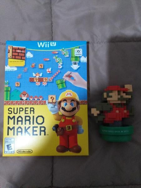 Super Mario Maker Wii U Amiibo Mario