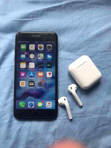 AirPods Gratis Apple iPhone 7 Plus 128gb Negro Mate Libre