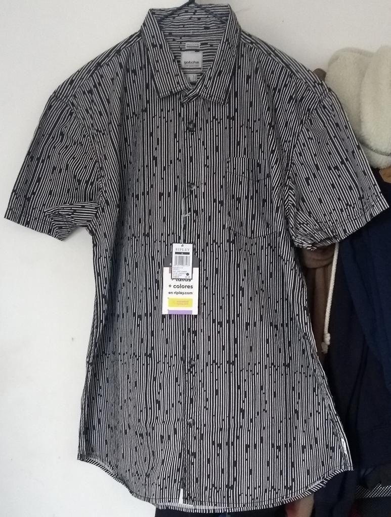 Camisa Hombre Gotcha Talla L