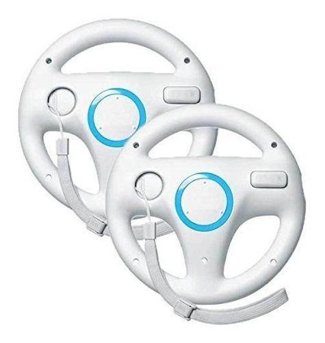 Beastron Mario Kart Racing Wheel Para Nintendo Wii, 2 Juegos