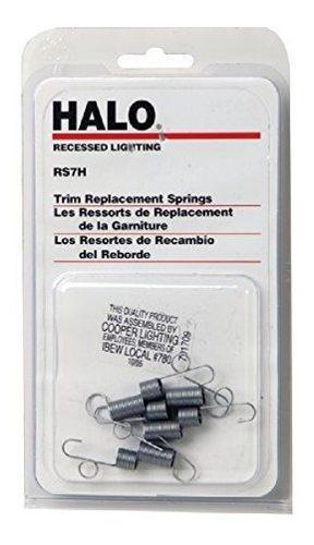 Halo Rs7h, Resortes Helicoidales De Repuesto Para Uso Con Mo