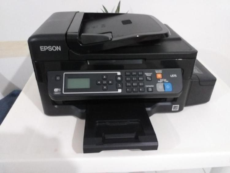 Impresora MULTIFUNCIONAL Epson L575 Wifi Y Fax Con Sistema