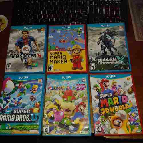 Juegos De Wiiu // Smash Splatton Mario Maker Xenoblade Pokke