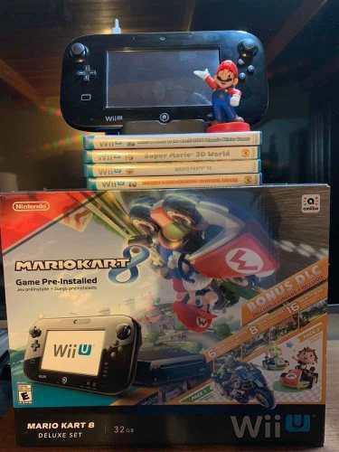 Nintendo Wiiu Mario Kart 8 Deluxe