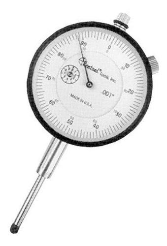 Central Tools 4345 Face Type A Dial Indicator