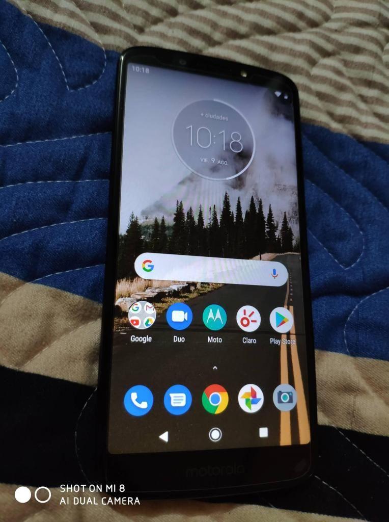 Motorola Moto G6 Play Libre Para Todo Operador 9/10