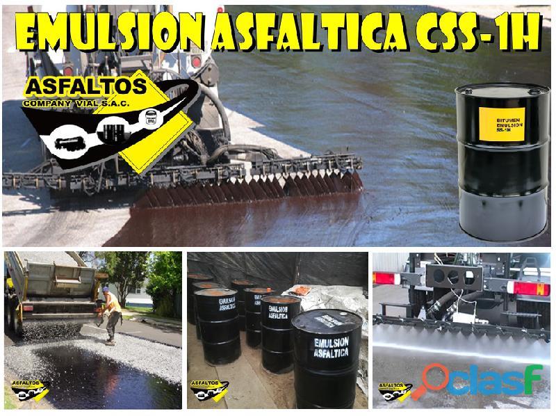 VENTA DE ASFALTO RC 250 , EMULSION ASFALTICA DE ROTURA LENTA