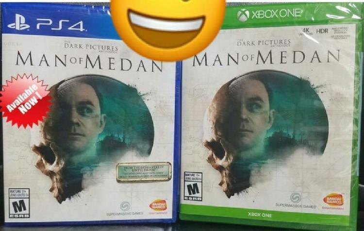 Dark Pictures Man Of Medan Ps4 Xbox One Nuevo Sellado Stock
