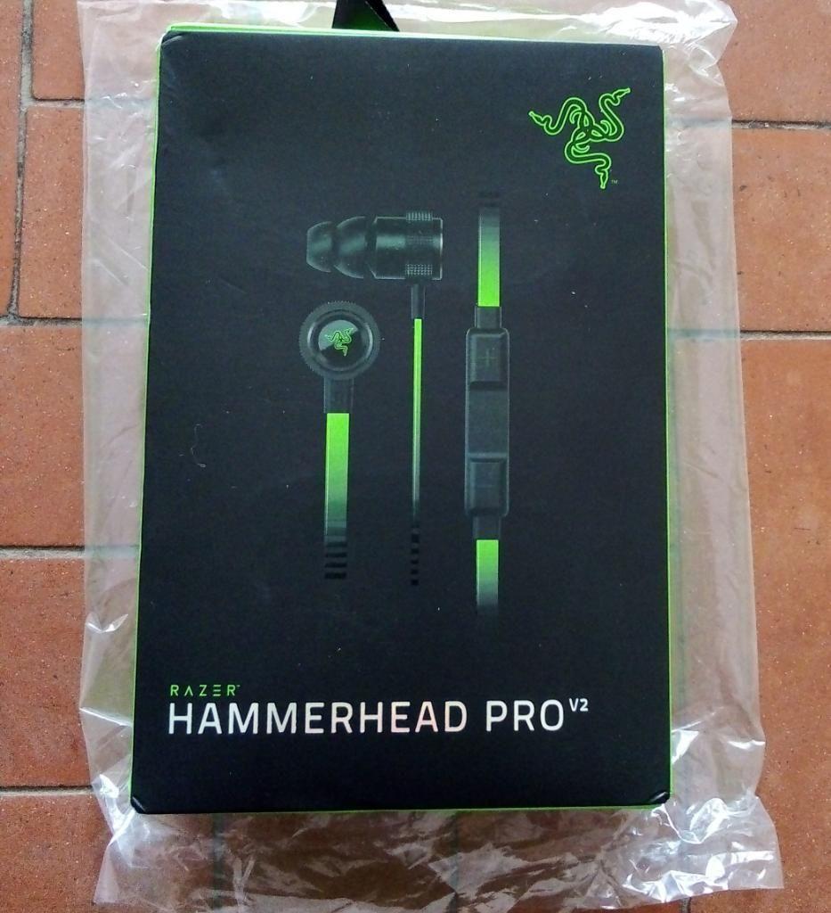 Audifonos Razer Hammerhead Pro V2 Sellad