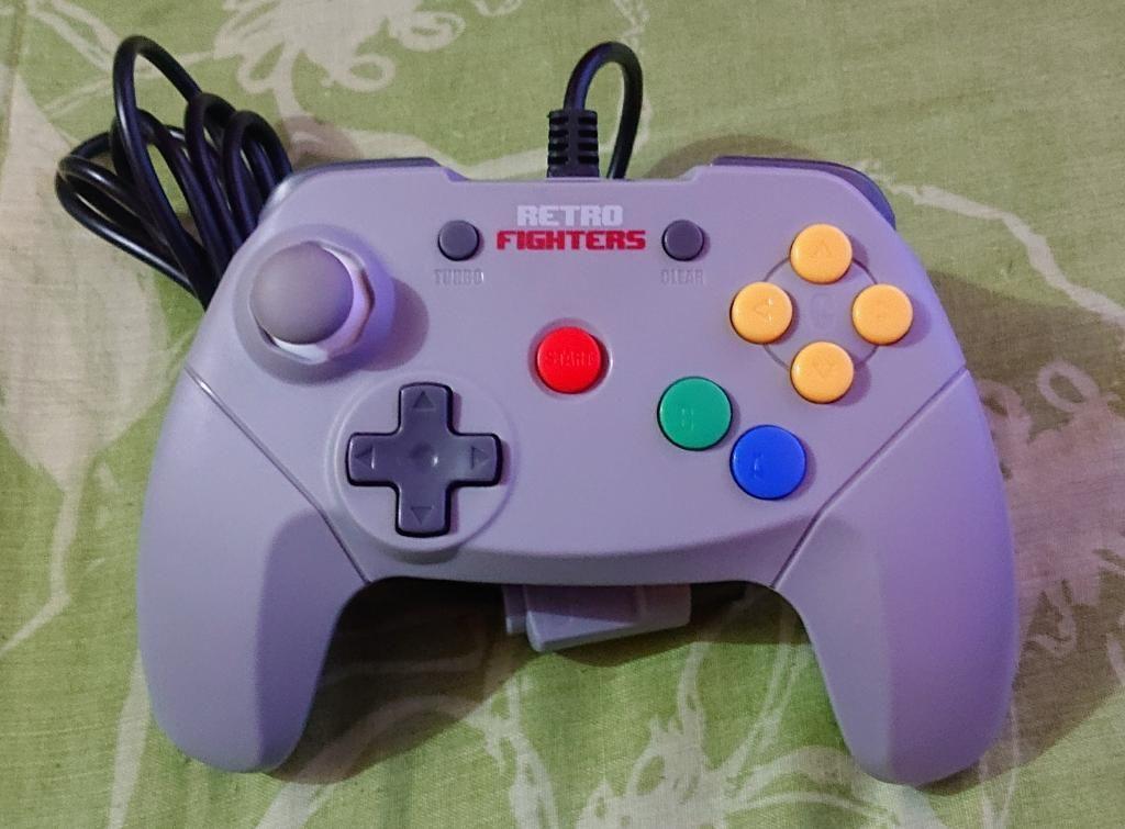 Brawler 64 Control Mando Nintendo 64 N64
