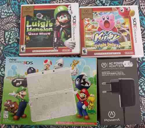 Consola New Nintendo 3ds Super Mario Edición Limitada