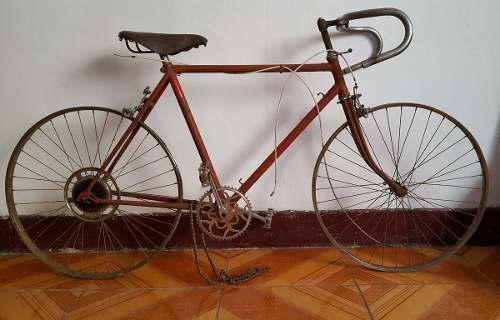 Antigua Bicicleta De Carrera Humber Hecha En Inglaterra
