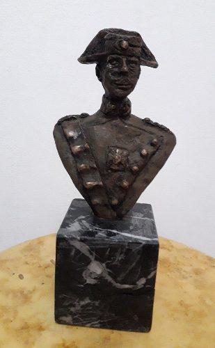 Antigua Escultura Española Firmada