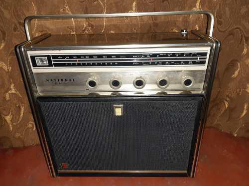 Antigua Radio National Sg-595 Automático 33 Y 45