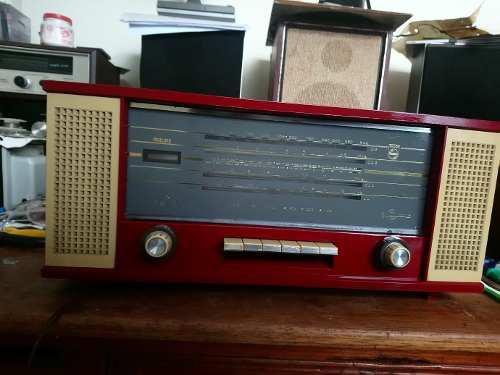 Antigua Radio Philips Para Decoración Reparación.