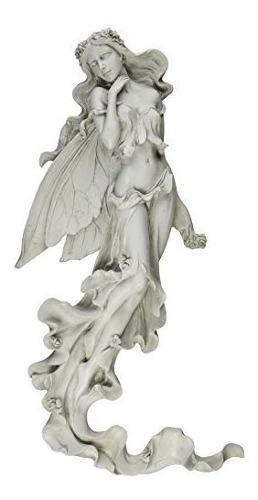 Diseño Toscano Brianna La Escultura De La Pared De Hadas De