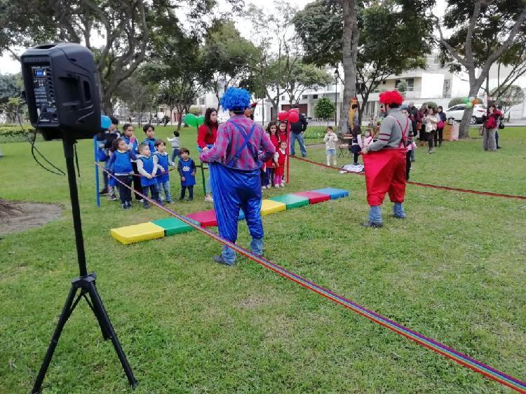 Alquiler de equipos para Fiestas Infantiles y eventos para