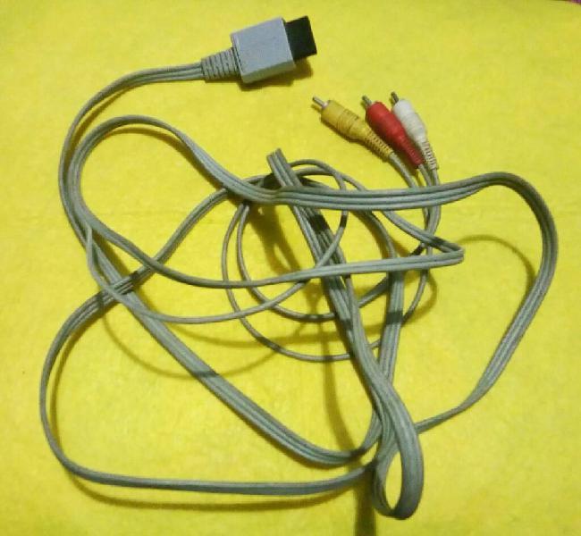 Cable de Audio Y Video para Wii (rca)