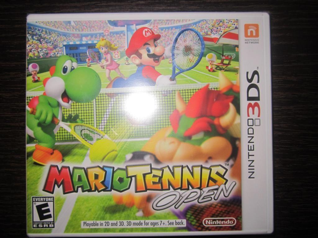 Mario Tennis Open 3ds Nuevo Sellado