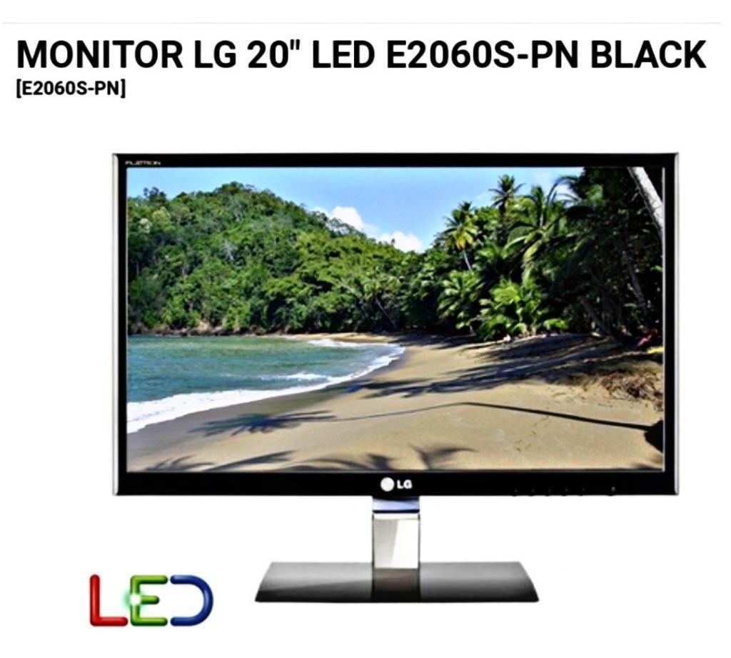 Monitor Led Lg 20 Pulgadas
