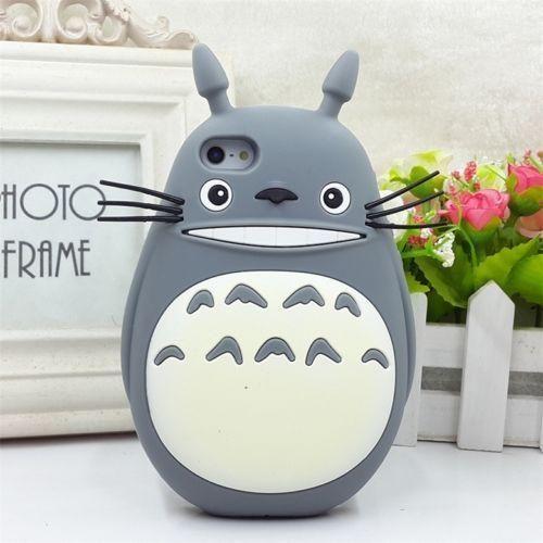 Totoro Studio Ghibli Anime Silicona 3D iPhone 6 / 6S