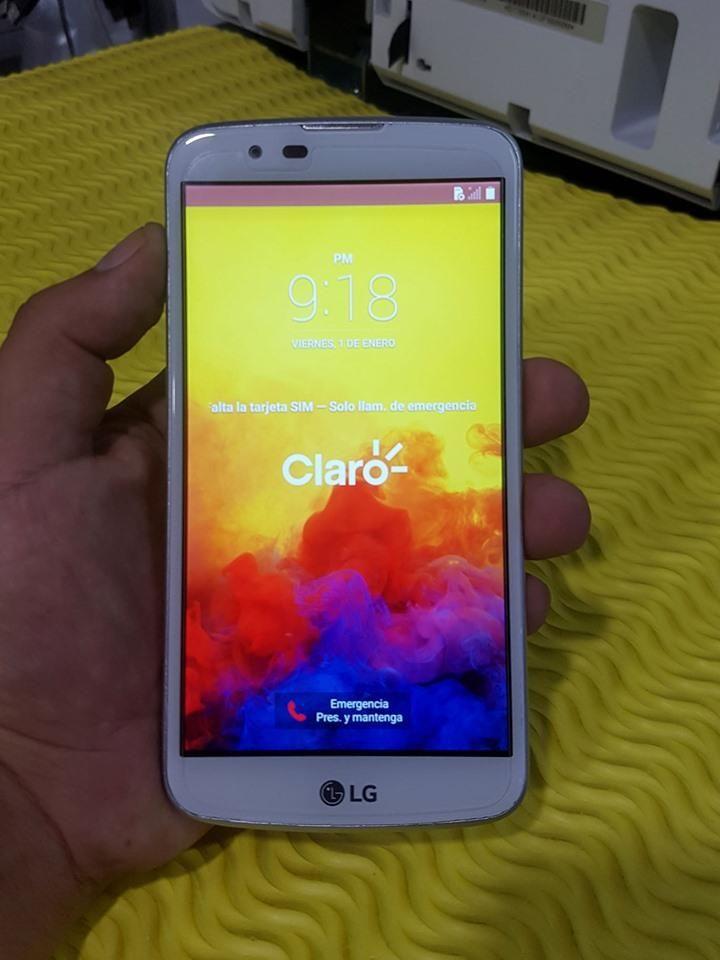 VENDO SMARTPHONE LG K10 LTE K430T LIBRE DE CLARO