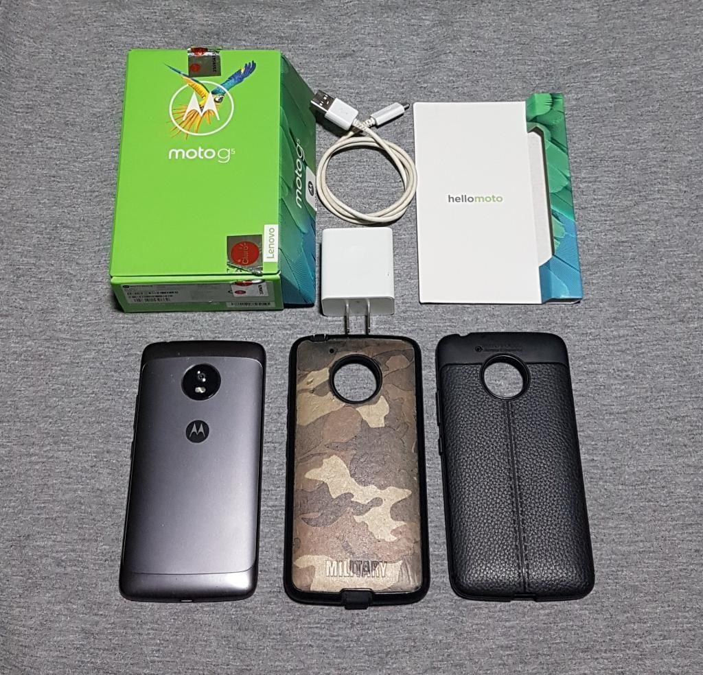 Vendo Cambio Moto G5 Libre 32gb en Caja