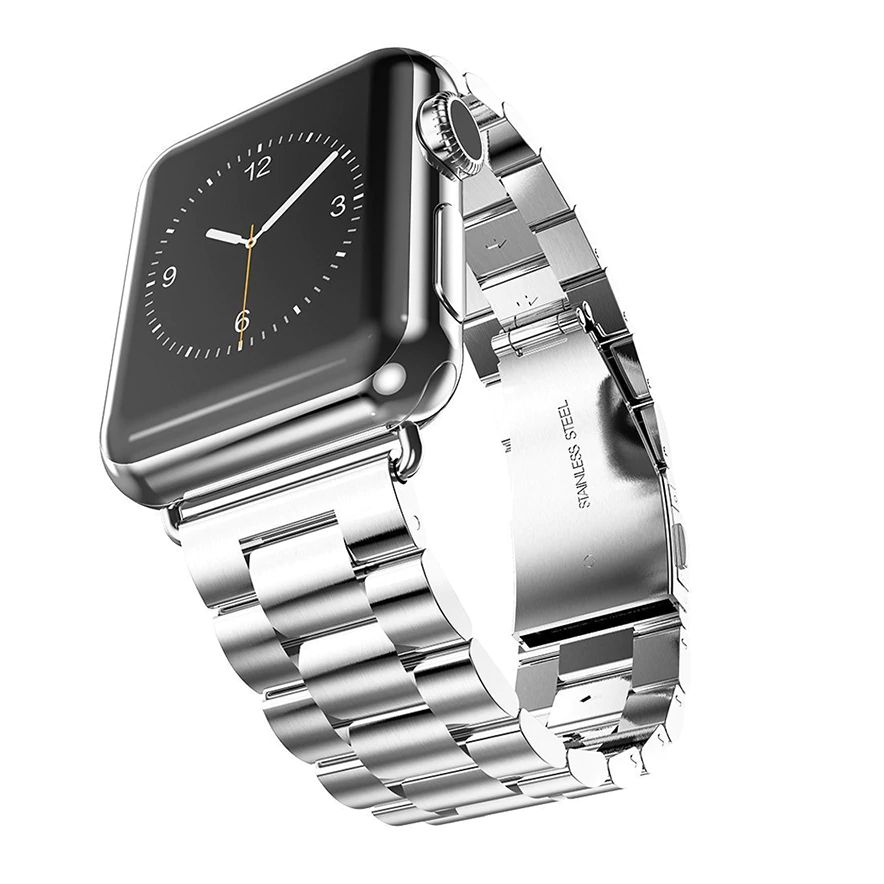 Correa De Acero Inoxidable Para Apple Watch 44mm / 42mm