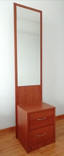 Mueble - Joyero Con Espejo Y Cajones