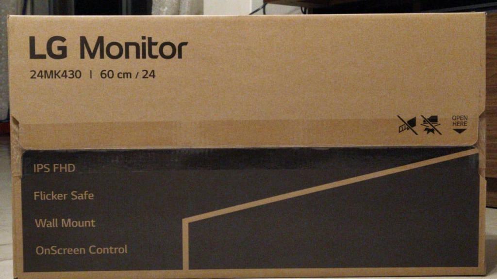 MONITOR NUEVO 24'' LG 24MK430H FULL HD  x