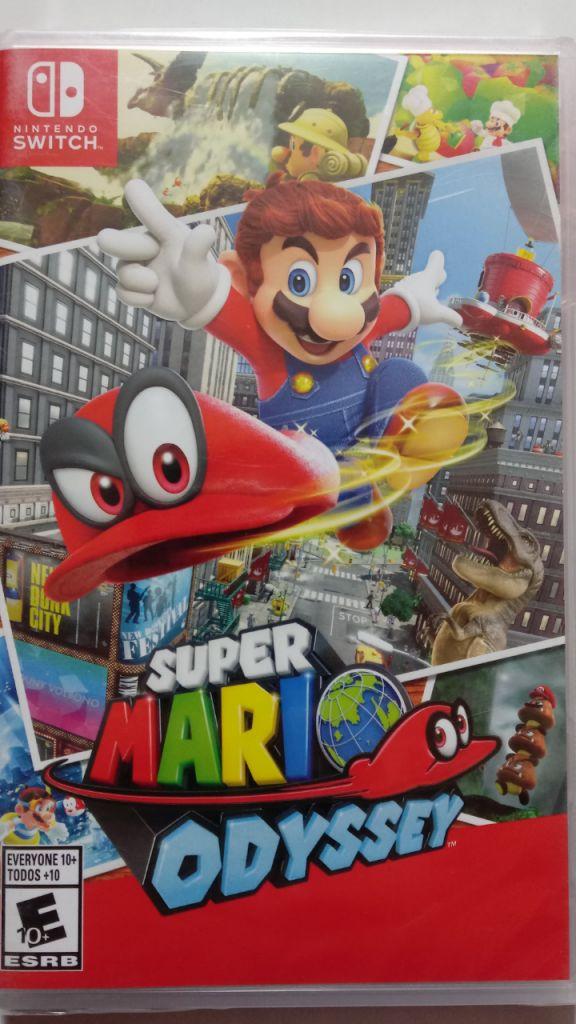 Super Mario Odyssey Nintendo Switch Nuevo y Sellado