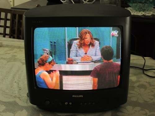 Televisor Phillips Smart Convencional 14 Pulg.made In Brasil