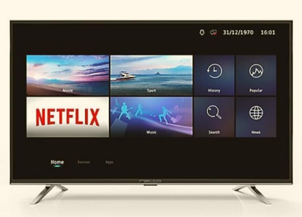 Televisor Recco 49 Pulgadas, Ultrahd, 4k