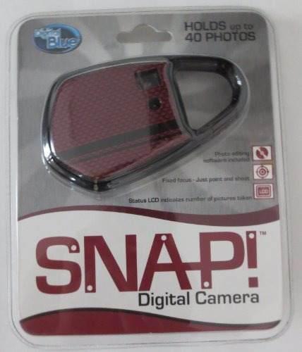 Digital Blue Snap! Camara Digital Vga Carabineer - Rojo