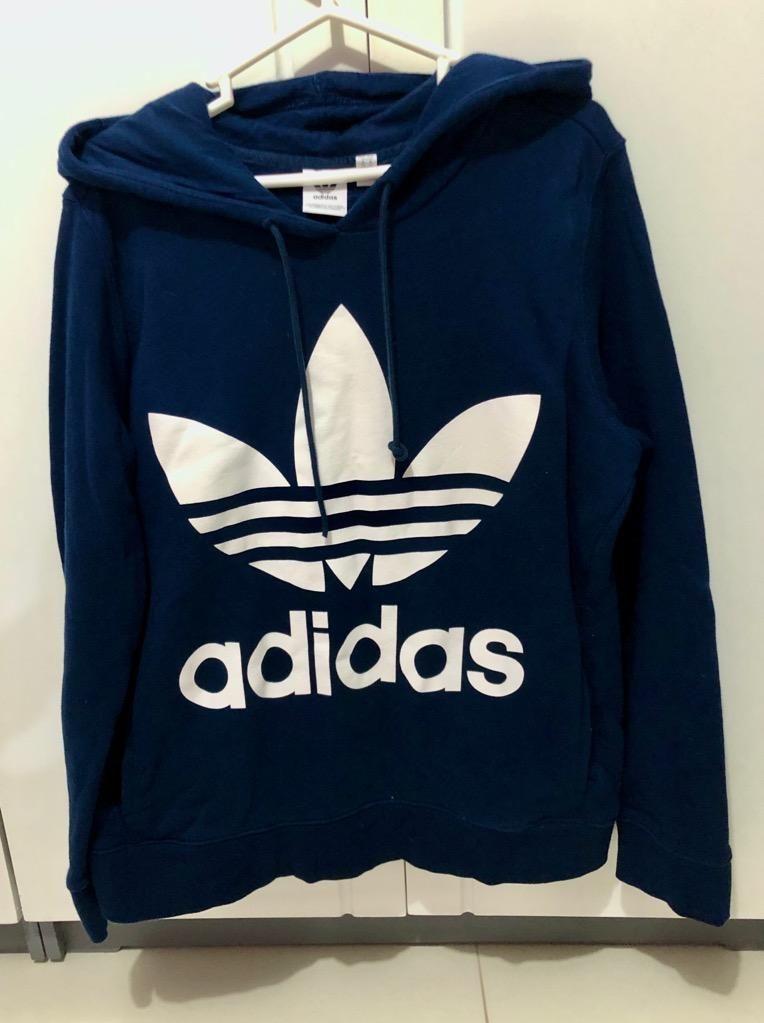 Polera Adidas Azul - Talla M