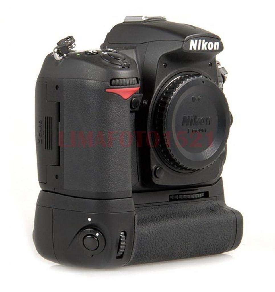 Battery Grip Para Nikon D Dslr Cámara Como