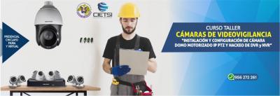 CURSO TALLER CÁMARAS DE VÍDEOVIGILANCIA 2019 PIURA Y