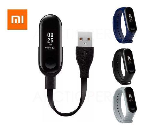 Cable Cargador Usb Para Xiaomi Mi Band 3 + Correa