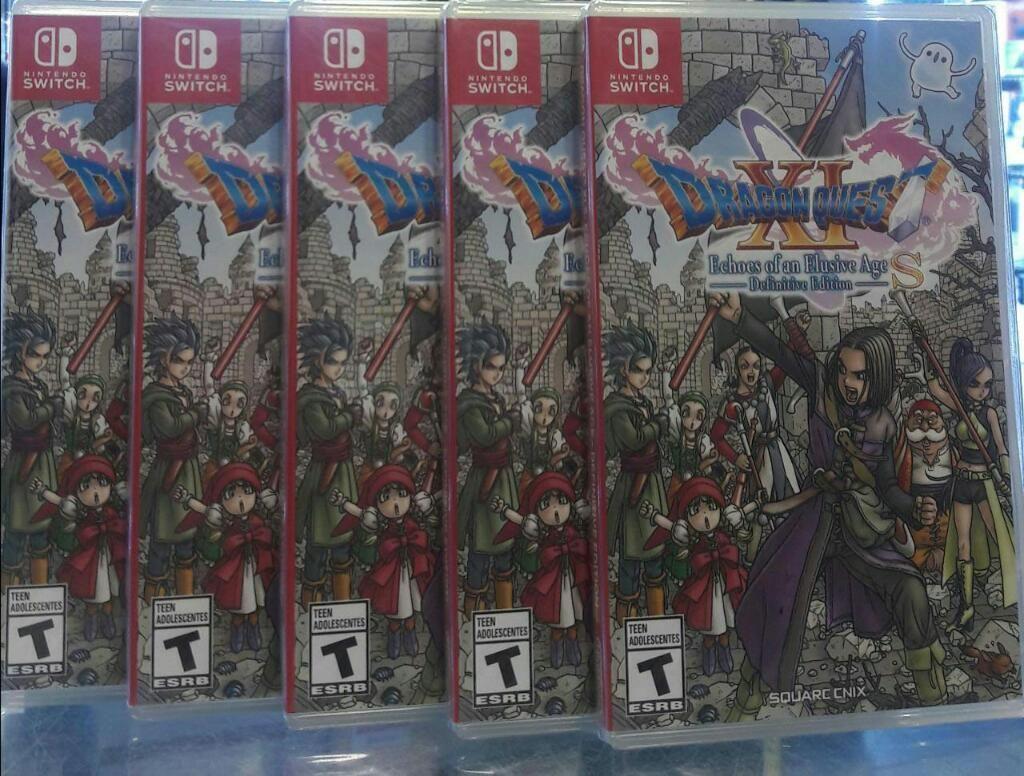 Dragon Quest Xi Nintendo Switch Sellado