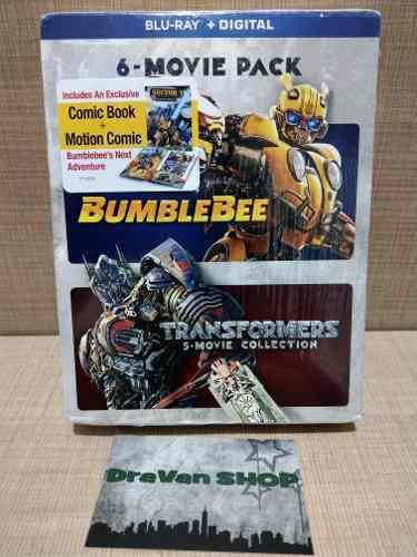 Bumblebee Transformers Colección Blu Ray Película Stock