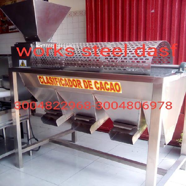Clasificadora para cacao en Andahuaylas